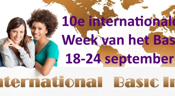 Week van het Basisinkomen 18-24 september 2017
